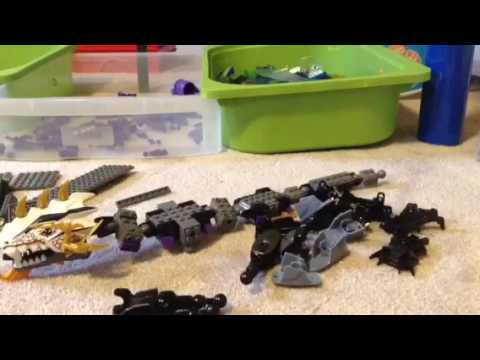 Lego ninjago movie nya 39 s mech dragon moc build youtube - Lego ninjago dragon a 4 tetes ...