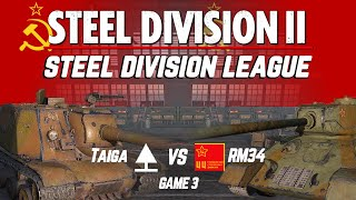 Division 2 Playoffs | Game 8 | $800 Steel Division League Competitive Tournament | WW2 RTS