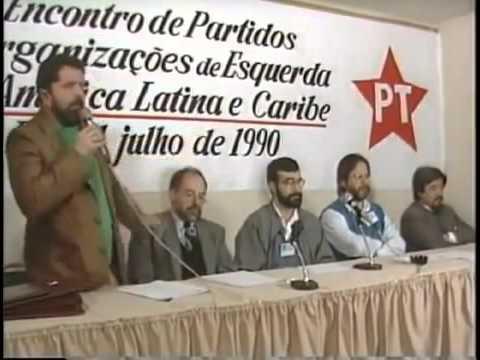 Resultado de imagem para foro de sao paulo 1990