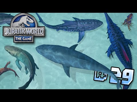 Battles In The Shallows!! || Jurassic World - Lagoon Series - Ep 29 HD