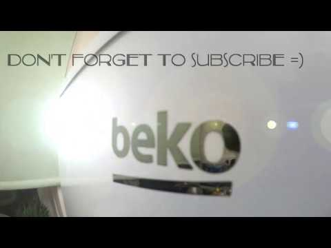 How to manually repair Beko fridge freezer by removing ice from the coils