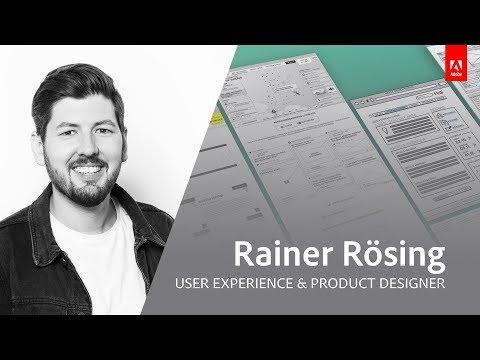 Live UX Design mit Rainer Rösing - Adobe Live 1/3