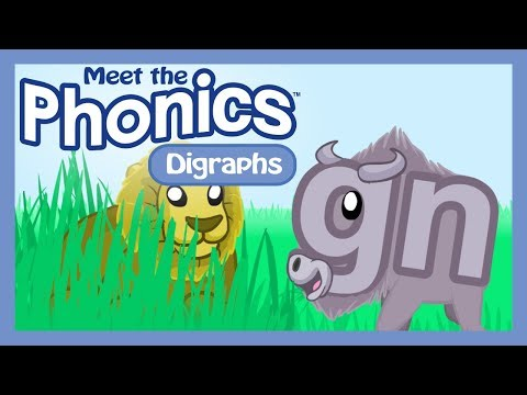 Meet the Phonics Digraphs - gn
