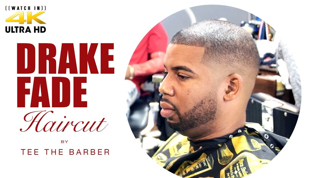 Haircut Tutorial The Drake Fade Youtube