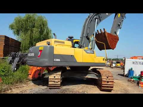 [ Winwin Used Machinery ] Used Crawler Excavator VOLVO EC380 2014yr For Sale