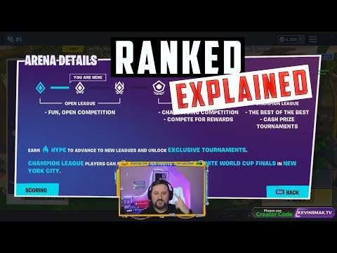 Fortnite Ranked Mode Explained
