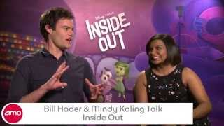 Bill Hader & Mindy Kaling Chat INSIDE OUT - AMC Movie News