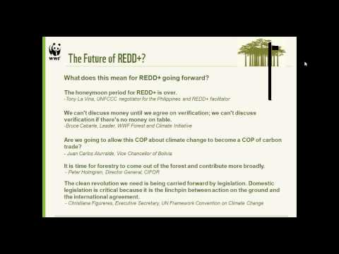 REDD+ Learning Session 6: UNFCCC-COP18, Outcomes and Next Steps