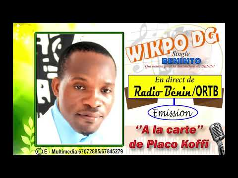 wikpo DG en direct de Radio Benin. '' E - MULTIMEDIA PRODUCTION''