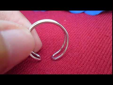 Nhẫn bạc nữ đôi