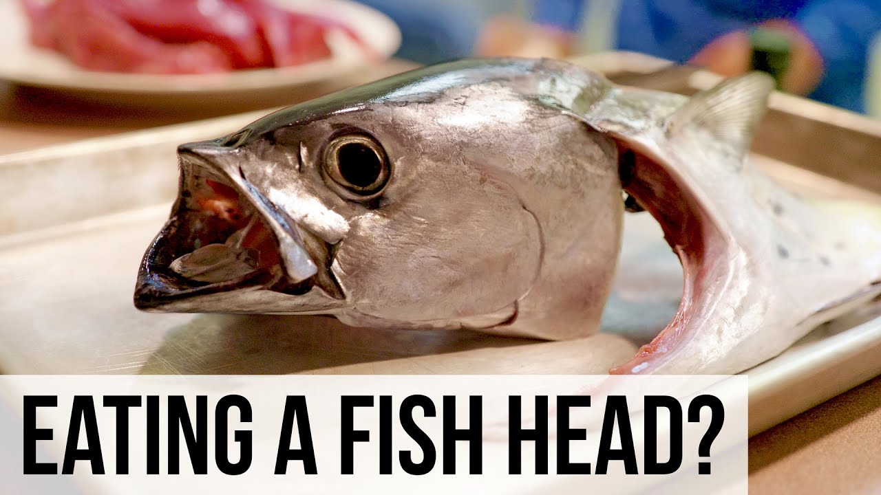 She Eats Fish Heads!!
