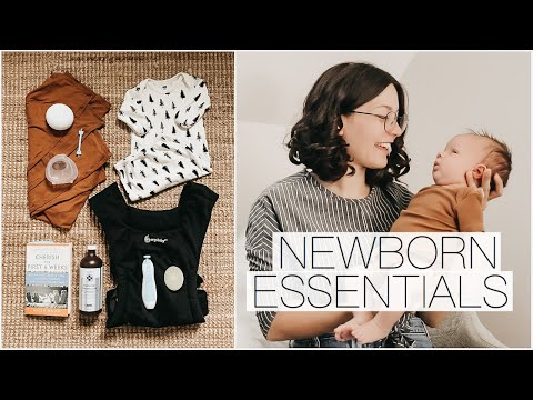 NEWBORN BABY ESSENTIALS    Minimalist Motherhood - YouTube
