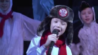 """""""Белый снег"""" - «Новогодний карнавал 2017»"""