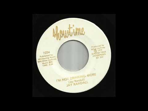 Jay Randall - I'm Not Drinking More