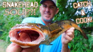 SNAKEHEAD CATCH, CLEAN & COOK