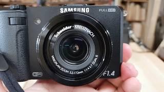 SAMSUNG EX2F F:1.4 하이앤드카메라