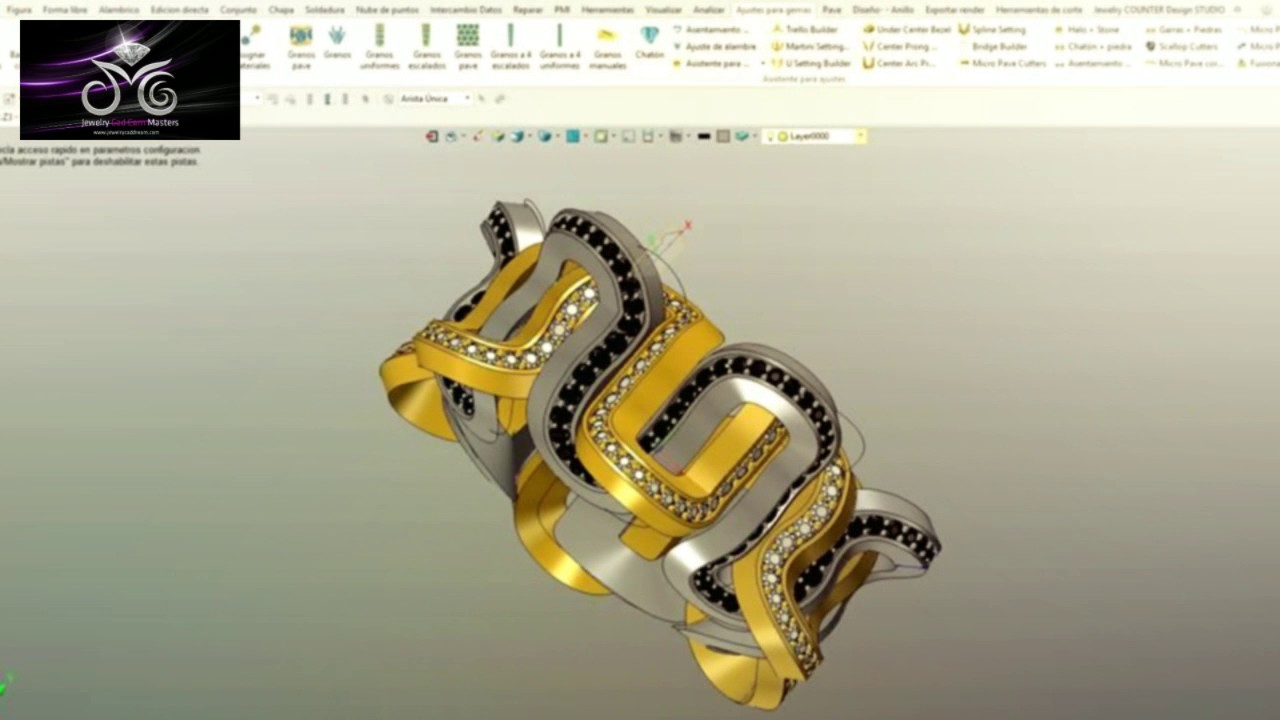 Jewelry Cad Dream 2017 software No limits Jewelry Design YouTube