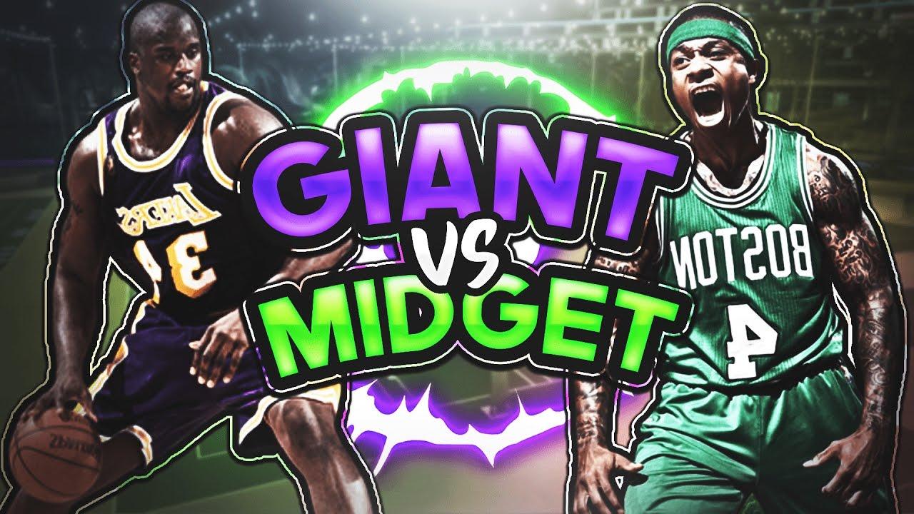 Midget VS Giant 1v1 ( Gone Wrong) - YouTube