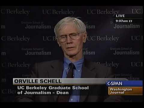C Span: Orville Schell on the death of David Halberstam