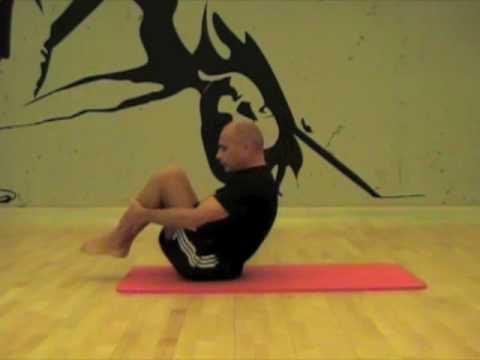 Pilates Rolling Back Movement
