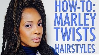How To Style Marley Twists