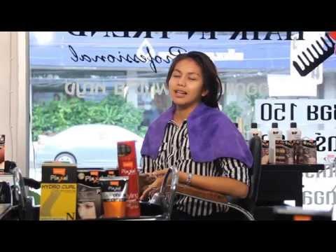 Make Over Look 2014 เทคนิคตัดซอยพร้อมทำสีสไตล์เรโท-นูโว ร้าน HAIR IN TREND (P4)