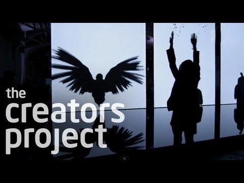 "Amazing Art Installation Turns You Into A Bird | Chris Milk ""The Treachery of Sanctuary"""
