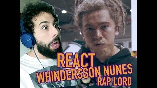 TO PUTO COM WHINDERSSON - REAGINDO A PARÓDIA RAP LORD