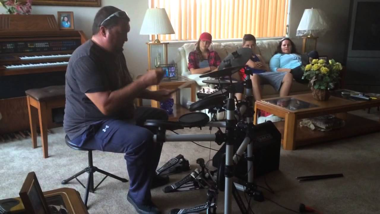 simmons sd550. wolman playing simmons electronic drums 1 sd550