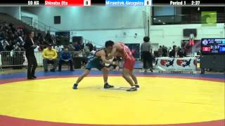 Download Video 59 KG CSFМейрамбек Айнагулов - Шинобу Ота 59 KG CSF   30.01.2015 MP3 3GP MP4
