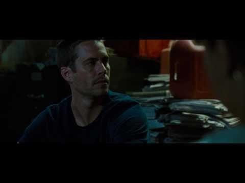 Fast and Furious 4 - Brian & Dom fight scene