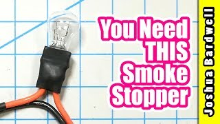 Why you need a smoke stopper | HOW TO MAKE A SMOKE STOPPER