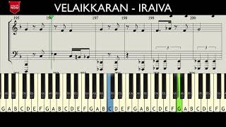 VELAIKKARAN - IRAIVA ( HOW TO PLAY ) SONG NOTES