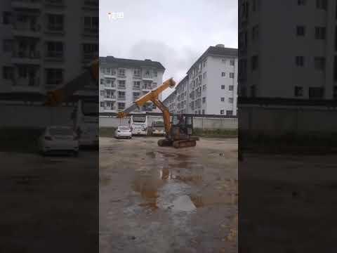 Dredge挖泥機:中國制伸縮臂開始有掘起,香港都有使用。