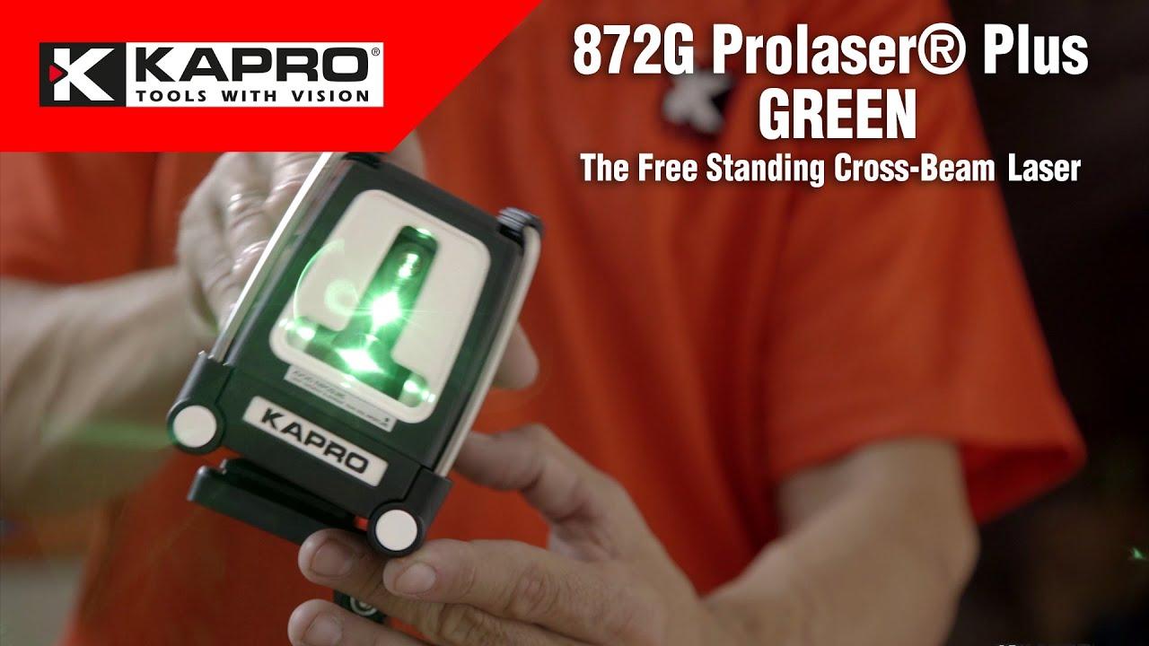 KAPRO 872G Prolaser® Green   The Free Standing Cross-Beam Laser