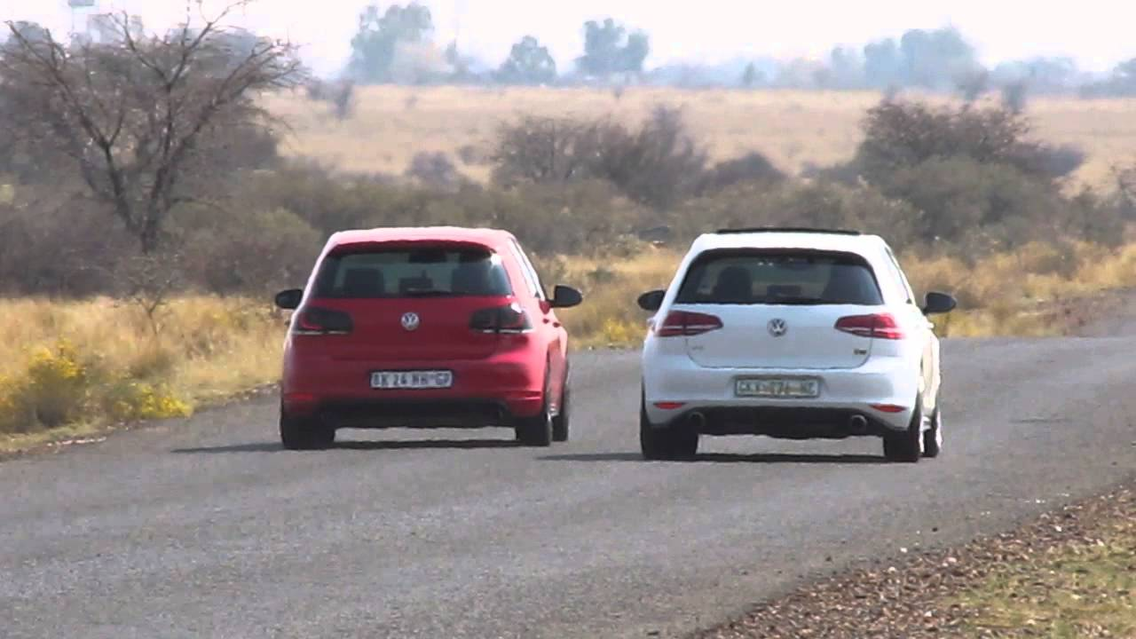 golf 7 gti vs golf 6 gti ko4 youtube. Black Bedroom Furniture Sets. Home Design Ideas