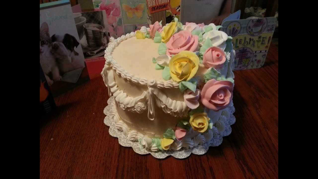 Cake decorating: Cascading Roses on a Wedding Cake - YouTube