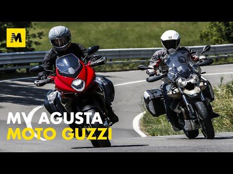 Moto Guzzi V85TT Travel e MV Agusta Turismo Veloce Rosso: TEST con le italiane da viaggio!