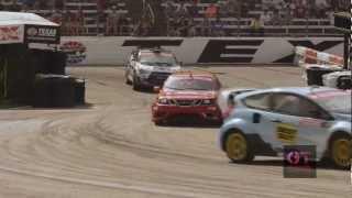 video thumbnail of Global RallyCross Round 2 Texas - Ford Fiesta Sweep