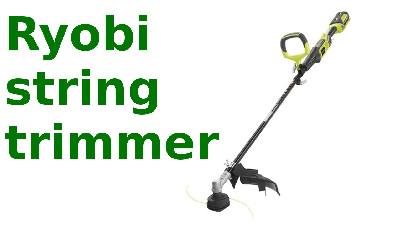 Ryobi 40v Expand It String Trimmer Review