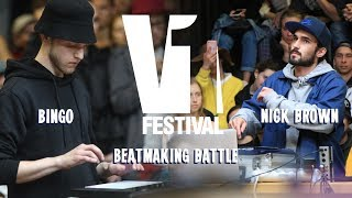 V1 FESTIVAL 2019 BEATMAKER BATTLE SEMIFINAL  NICK BROWN VS BINGO