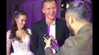 Тарасов напился и обкурился на собственной свадьбе. Мот и Лобода поют на свадьбе Тарасова и Костенко