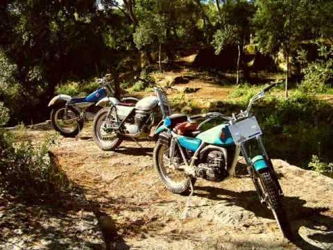 Forum MOTOR PASION Balade dans le Gard LA CITE INTERDITE - Bultaco -Ossa - Yamaha / Trial classic