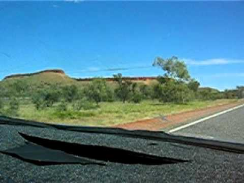 AUS NT Barrow Creek Country TCK ASP Stuart Highway 0071