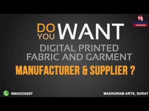 High Quality Digitally Printed Fabrics and Garments