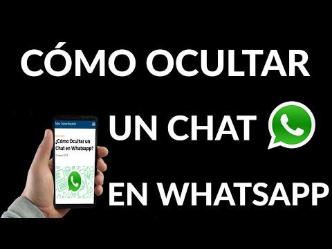 Cómo Ocultar un Chat en WhatsApp