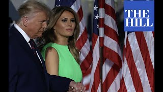 JUST IN: First Lady Melania Trump defends President Trump's Twitter use