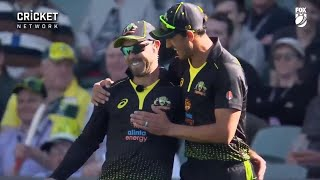 'Like that?': Maxwell commentates his own run out