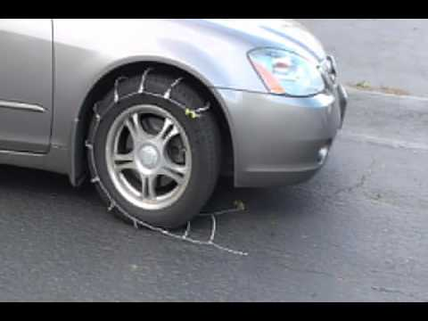 Tire Chains Cables Youtube