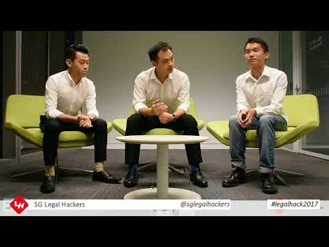 #legalhack2017 Legal Hacking in Singapore, SG Legal Hacker